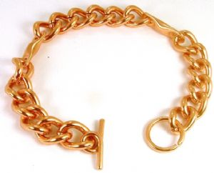 M61: Magnetic Copper Chain Bracelet